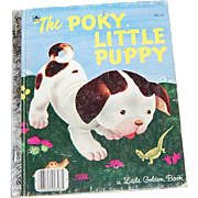 SALE 1970 The Poky Little Puppy ~ A Little Golden Book