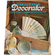 SALE 1989 Garage Sale Decorator Book