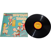 SALE 1950s Let's Have a Rhythm Band Record