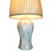 Vintage Murray Feiss ~ Painted Butterfly Ceramic Table Lamp