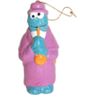VTG Cookie Monster Playing Saxophone Ornament