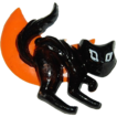 1960/70s Halloween Scary Black Cat Cake Topper