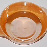 SALE Anchor Hocking ~ Peach Lustreware Casserole Dish