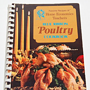 SALE 1973 Blue Ribbon Poultry Cookbook