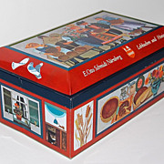 SALE Vintage E. Otto Schmidt Biscuit Tin ~ West Germany