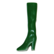 1970s Olive Green Go-Go Boot Pin