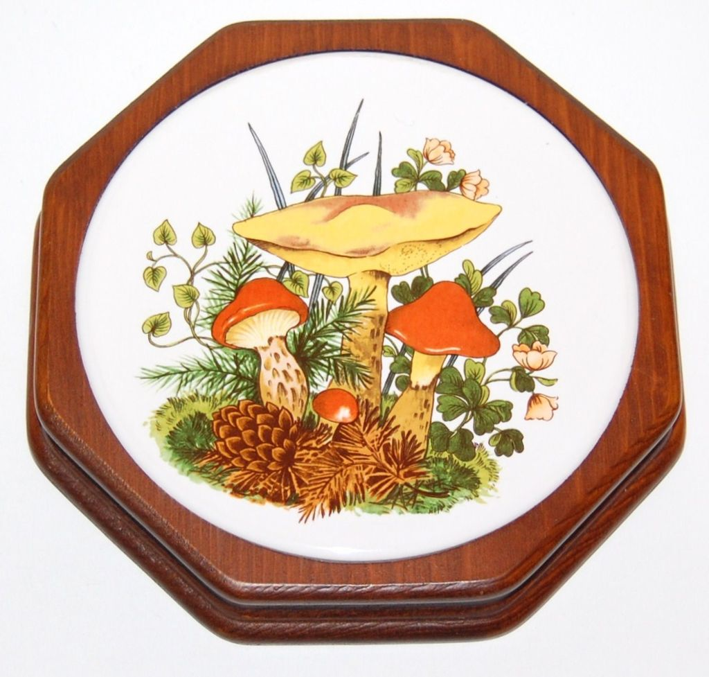 1970s Mushroom Trivet Or Wall Decor From Kitschandcouture On Ruby Lane