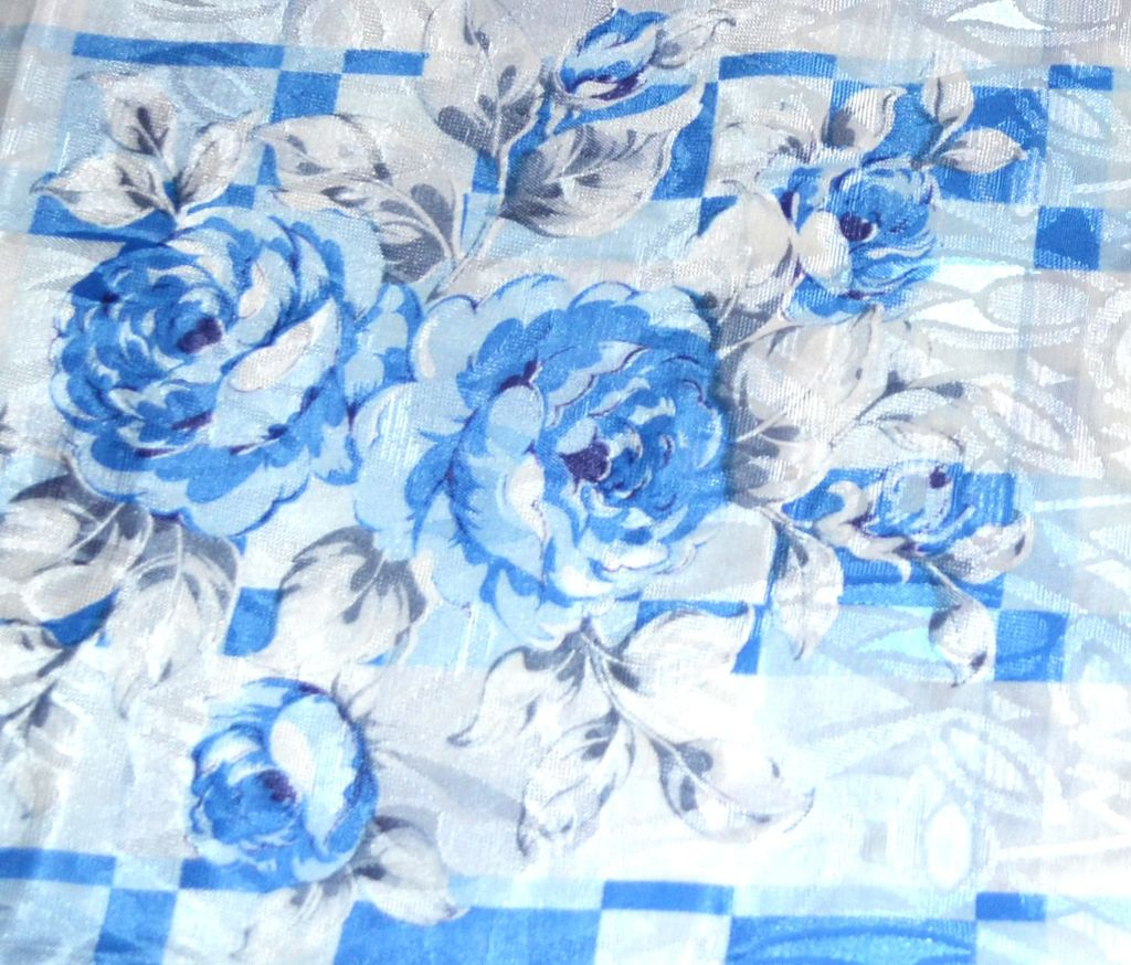 White Blue And Rose Room