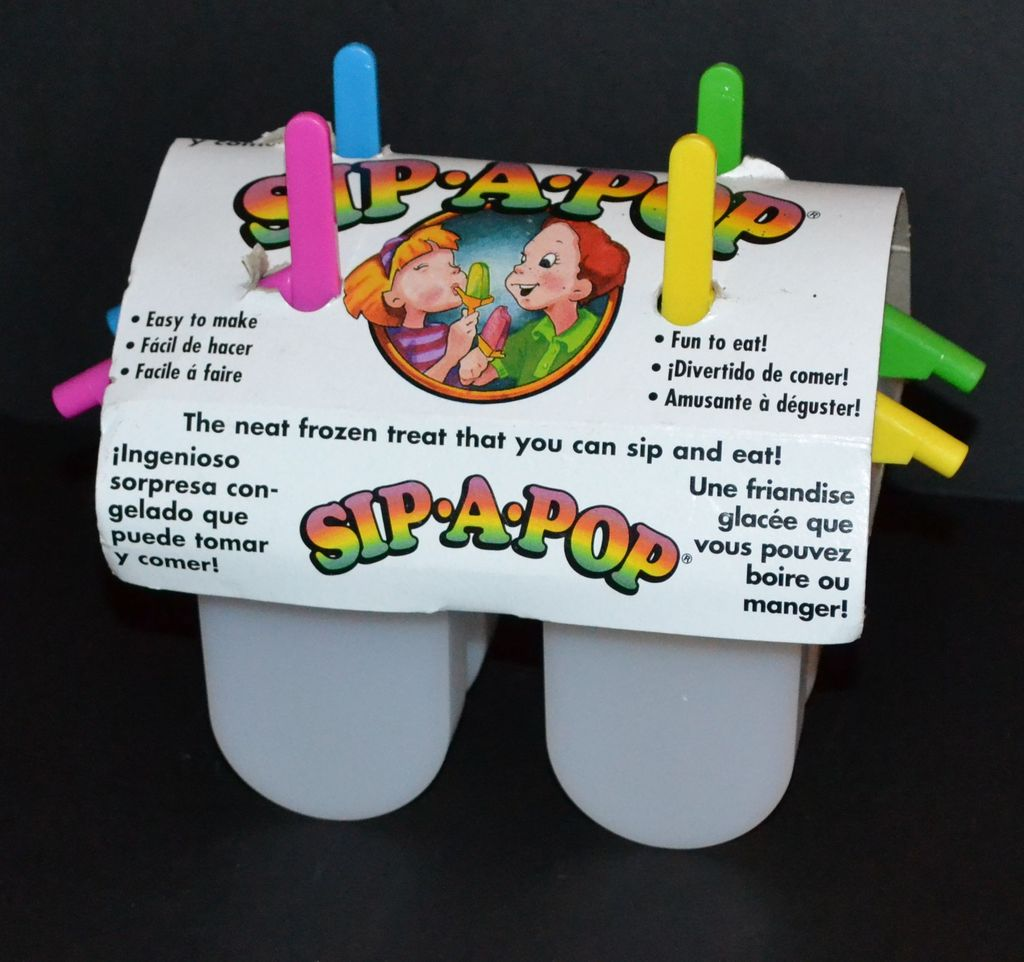 1980s sip a pop 5 pc popsicle mold usa from for What s a couture pop