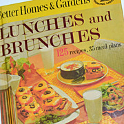 SALE 1963 Better Homes ~ Lunches & Brunches H/C Cookbook