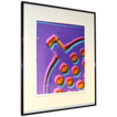 1981 Karen Goldstein ~ Framed 'Floor Drain' Abstract Photo Art