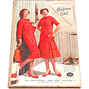 SALE 1958/59 Montgomery Ward ~ Chicago Fall/Winter HARDCOVER Catalog
