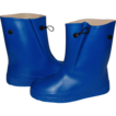 Water-Poofs ~ Child's Royal Blue Rubber Galoshes ~ Mint