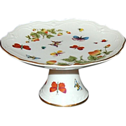 SALE Lenox ~ Butterfly & Strawberry Pedestal Stand