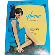 SALE 1960s Theme Stockings ~ Nylon Stockings Lingerie Box