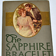 SALE 1910 The Sapphire Bracelet Hardcover Book