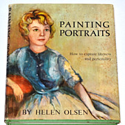 SALE 1963 Painting Portraits ~ Hardcover Book w/ DJ