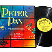 SALE 1963 Walt Disney ~ Peter Pan LP Record