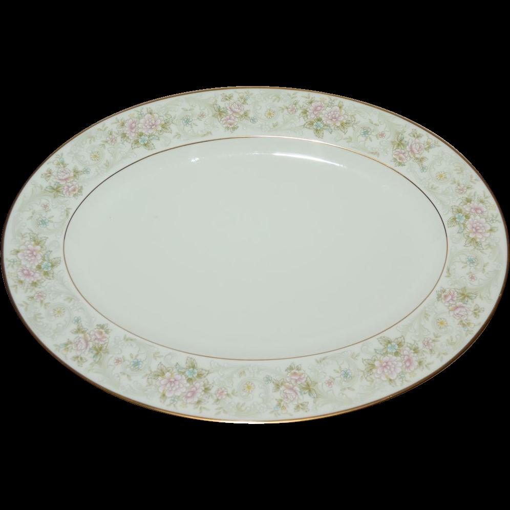Noritake Willowbrook Bone China 14 Quot Oval Serving Platter