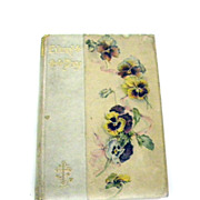 1890 EVERY DAY Text Hymn Prayer & Record Book DIARY Daily Inspirations CHRISTIAN