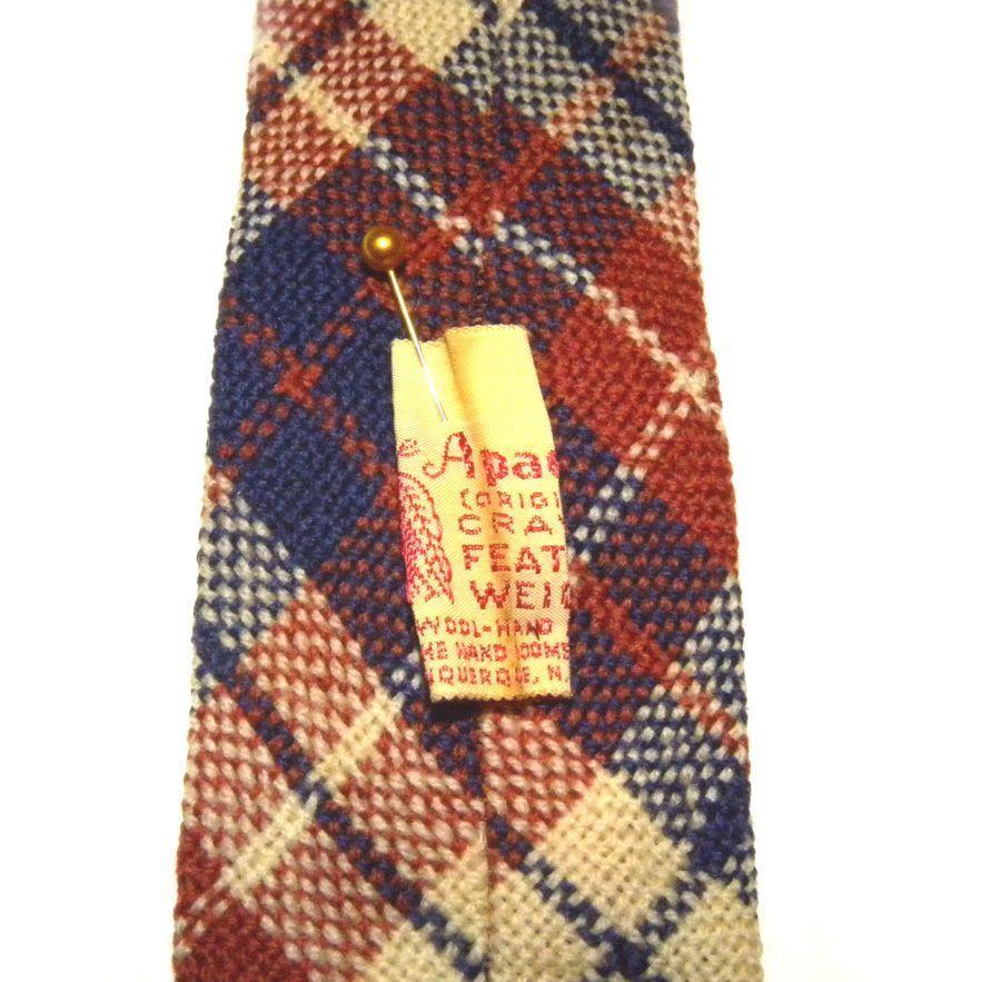 Apache Original Tie Cravat Feather Weight All Wool Hand