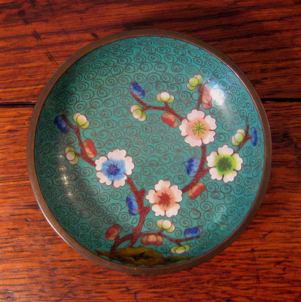Antique Chinese Cloisonne' Bowl, Circa 1900