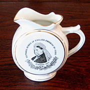 SALE Queen Victoria Jubilee Pitcher, 1887