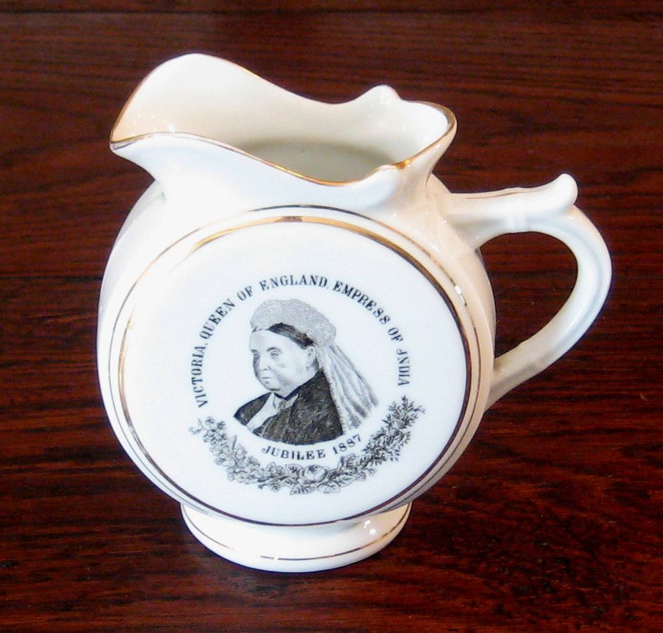 Queen Victoria Jubilee Pitcher, 1887