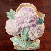 Vintage McCoy Chrysanthemum Vase In Mint Condition, Circa 1950