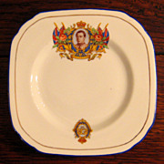 SALE King Edward VIII Commemorative Coronation Plate, Circa 1937