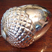 SALE Large Vintage Mercury Glass Acorn