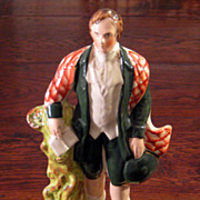 SALE 19th Century Staffordshire Figure Of Robert Burns, Circa 1870