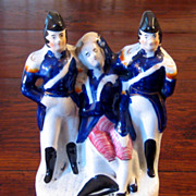 SALE 19th Century Staffordshire Figure Of Admiral Horatio Nelson, Circa 1850