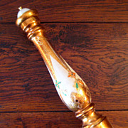 SALE Large Vintage Florentine Gilt-Wood Pepper Mill
