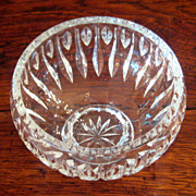 SALE Vintage Marquis By Waterford Sheridan Crystal Bowl
