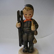 SALE Early Hummel Figurine #12 Chimney Sweep TMK 2 Germany