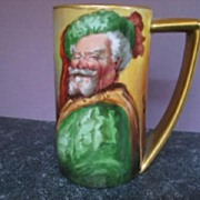 "SALE Fabulous HP 1900 ""Falstaff"" 6"" Tankard by Pickard Artist ""HEINZ"""