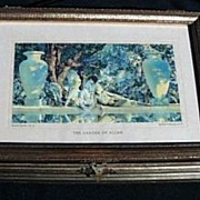 "Maxfield Parrish "" Garden of Allah"" Box"