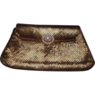 Original Whiting & Davis Gold Mesh Clutch Purse ~Very Retro