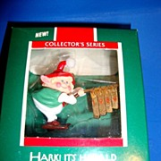 Hark Its Herald 1989 Hallmark Collectors Series xmas Ornament