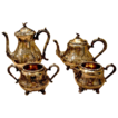 Cooper Bros & Sons sheffield Silverplate 4 pc tea coffee set