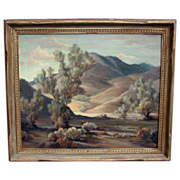 Orpha Mae Klinker Listed Large California Landscape