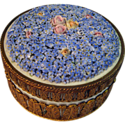 Dresden Porcelain Dresser Box