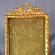 Antique French Gilded Bronze Picture Frame Rectangle