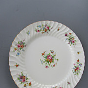 Vintage Minton Porcelain Chop Plate or Charger - &quot;Marlow&quot; Pattern - c. 1912-1950