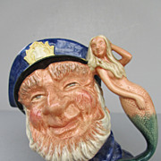 Royal Doulton Large Character Jug - &quot;Old Salt&quot; - D6551