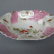 Theodor Lehmann, Arzberg, Bavarian Porcelain Serving Bowl - dated 1898 to 1904