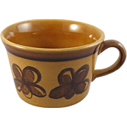 REDUCED Metlox Poppy Trail Cup Carmel Pattern c. 1969
