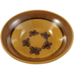 Metlox Poppy Trail Round Serving Bowl Carmel Pattern c. 1969