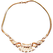 Vintage Trifari Rhinestone Necklace